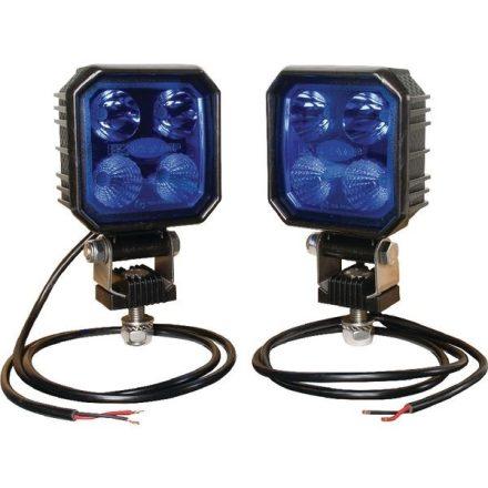10002 Munkalámpa, LED-es, 9W, 1000 lm, kék, kombinált