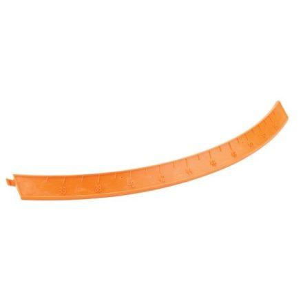 927857 Amazone Skála om 35-55 jobb, műanyag, narancs